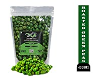 GreenFinity: Roasted Green Peas - 400Gms | Spicy & Crunchy.