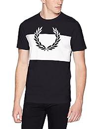 Fred Perry T-Shirt avec Couronne De Laurier Imprimée