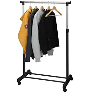 koopman freestanding clothing rail kitchen. Black Bedroom Furniture Sets. Home Design Ideas