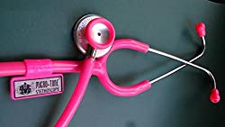 MSI Microtone Stethoscope Colors-pink,blue,red,black,grey. (PINK)
