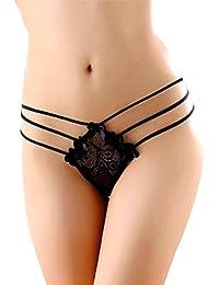 Ponte Guapa Conmigo Braguitas sensuales y sexys para Mujer de Encaje, Estilo intimissimi. (