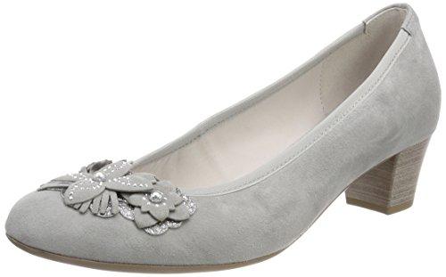 Gabor Shoes Damen Basic Pumps, Grau (Stone), 41 EU