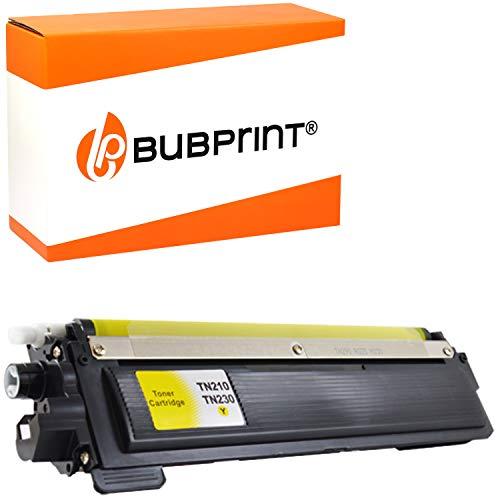 Bubprint Toner kompatibel für Brother TN-230 TN-230Y TN230 TN230Y TN 230Y für DCP-9010CN HL-3040CN HL-3070CW HL-3075CW MFC-9120CN MFC-9320CW Gelb - Drucker Mfc9320cw Brother