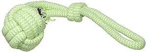 Duvo+ Dogtoy Scooby Corde Dummy Balle avec Boucle pour Chien Couleur Mélangée 39.5 x 7.5 x 6.5 cm