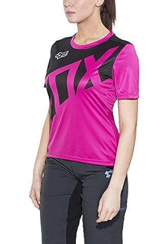 Fox Ripley - Maillot manches courtes - rose/noir Modèle M 2017 maillot cyclisme homme