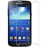 Film Protection d'écran en Verre Trempé pour Samsung Galaxy S4 Active l Glass Screen Protector Vitre Tempered- Dureté 9H, Ultra-mince 0.33 mm, 2.5D Bords Arrondis- Anti-rayure, Anti-traces de doigts,Haute-réponse, Haute transparence