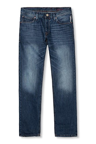 edc by ESPRIT Herren Jeanshose Blau (C MEDIUM BLUE 955)