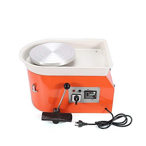 Xian 220V 50Hz 250W Töpferscheibe Kleine professionelle Töpferei Maschine Für Keramik Lehm Ton Keramikmaschine 25CM