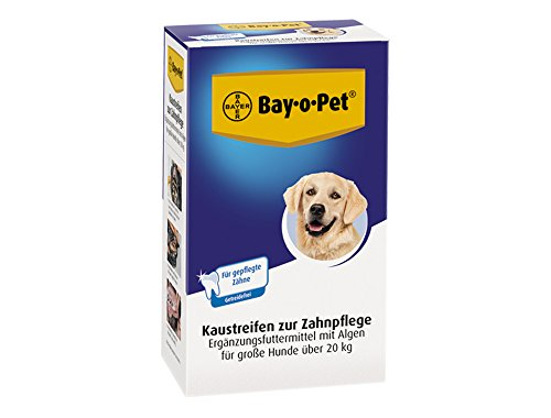 bayer-mouth-guard-33267-bay-o-pet-zahnpflege-kaustreifen-grosser-hund-140-g