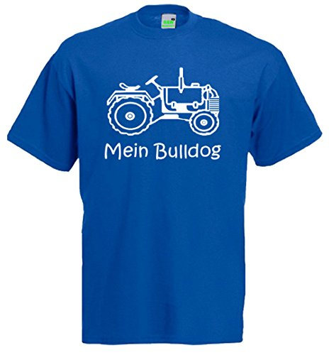 Mein Bulldog, Kinder T-Shirt, Traktor, Schlepper, Trecker: Amazon.de:  Bekleidung