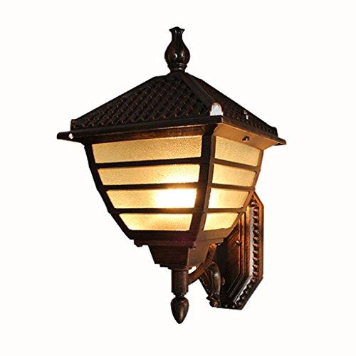 SKC Lighting-Applique murale Lampe murale étanche à l'épreuve de style européen Balcon extérieur Pare-escalier