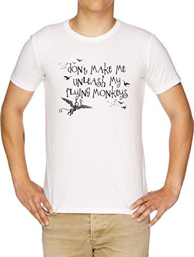 Wizard of Oz Inspired - Dont Make Me Release My Flying Monkeys Herren T-Shirt ()