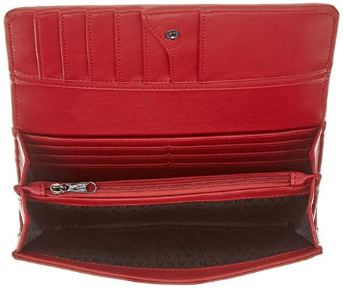 ARMANI EXCHANGE Wallet With Stud - Portafogli Donna, Rosso (Red Shoes), 10x4x19 cm (B x H T)