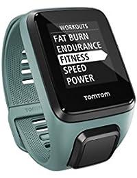 TomTom Spark 3 Basico - Reloj deportivo, color aqua, talla S