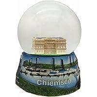 30055Souvenir bola de nieve Chiemsee Señor Chiemsee prien Mujer Isla 65mm de diámetro