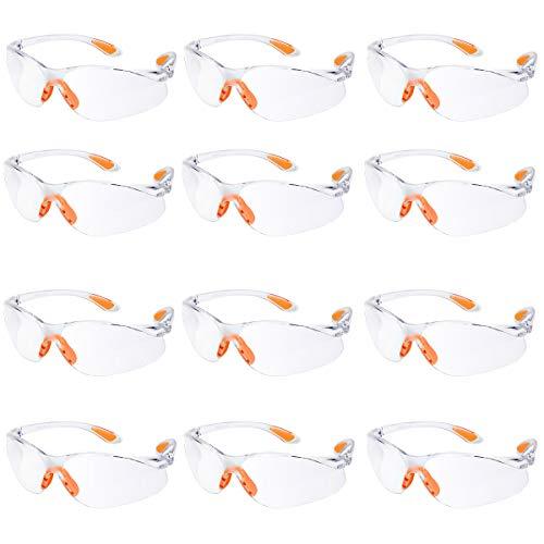 Gafas seguridad Paquete 12 Gafas Protectoras Trabajo