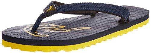 Puma Men's Miami III Ind. Mood Indigo and Dandelion Nylon Flip Flops Thong Sandals - 5 UK/India (38EU)  available at amazon for Rs.243