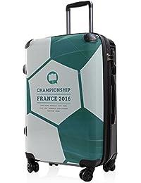 Maleta Principal Ciudad rígida Style 65cm Con Candado TSA) con diseño de EM doble ruedas Incluye maletín colgante