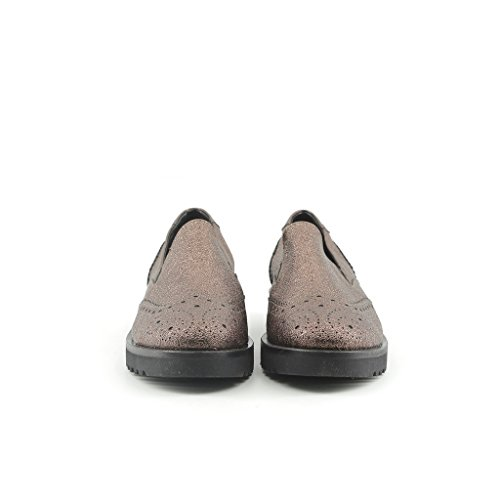 Made In Italy Lucilla Brown Chaussures Plates Pour Femmes