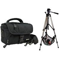 Borsa per fotocamera BLACK STONE Set con treppiede da viaggio fotografico