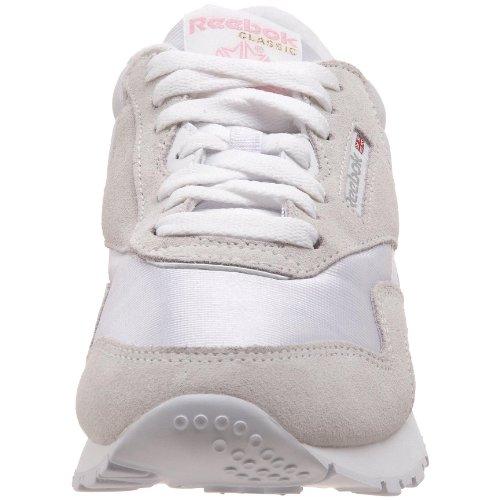 Reebok Classic, Chaussures De Sport Pour Femme, Blanc (gris Clair / Blanc)