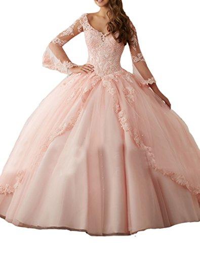 Engerla Damen Kleid Gr. 30, rose