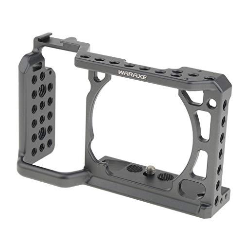 Baoblaze Profi Kamera Video Käfig aus Alu für Sony A6500 A6300 A6000 spiegellose Kameras