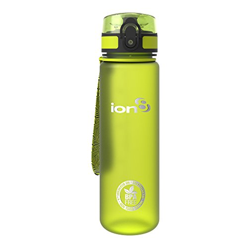 schlanke Wasserflasche / Trinkflasche, BPA-frei, 500ml / 18oz (Trinkflaschen Für Kinder)