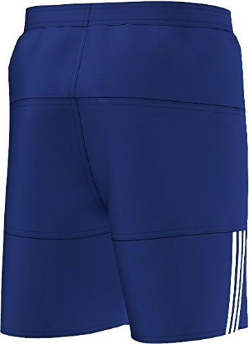 adidas Herren Badeshorts Mid 3S SL Marine/Weiß