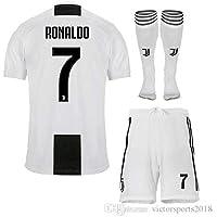 maillot Ronaldo n°7 Juventus - T12 Ans / 150 cm Environ modèle Générique + Short + Chaussettes Répliqua autorisé