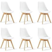 Amazonfr Chaise Blanche Designetsamaison