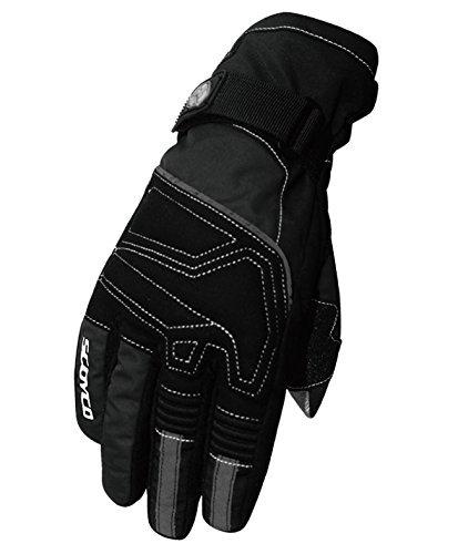 Crazy CAMC30da al impermeabile e termico full-finger guanti da moto con touch screen del dispositivo Sportswear Cycling Outdoor sport invernali e caldi guanti nero m/L/XL/XXL
