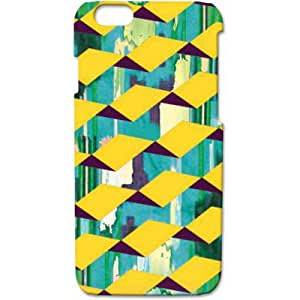 Crackndeal 15NATZCI6 Back cover for Apple iPhone 6, (Multi-coloured)