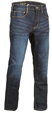 5.11Defender-Flex slim Jean, bleu