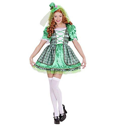 KOSTÜM - IRISCHES MÄDCHEN - 42/44 (L) St. Patrick (Irische Kostüme)
