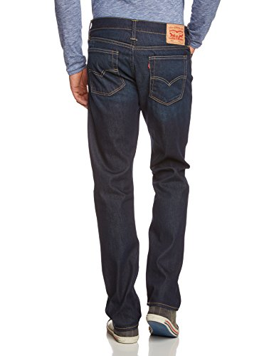 Levi's Herren 513 Slim Straight Fit Jeans Blau (Biology)