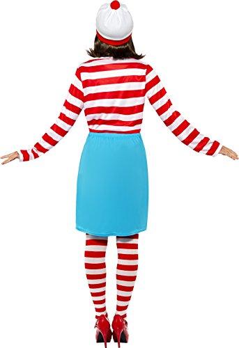 Imagen de smiffy's  disfraz para mujer con diseño wally, talla l 39504l  alternativa