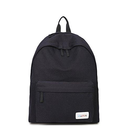 solid Color koreanischen Canvas Rucksack/minimalistische Travel Leisure Laptop-Tasche/Schlanke-C D