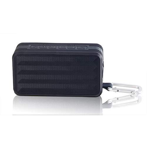 OKMIJNBH Enceinte Bluetooth-Haut-Parleur Intelligent Basse Lourde Portable Bluetooth sans Fil Stéréo Premium 5W 8h de Jeu et Mains Libres (Noir)