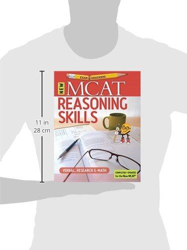 9th Edition Examkrackers MCAT Reasoning Skills: Verbal, Research & Math