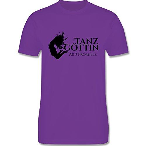 Sprüche - Tanzgöttin ab 3 Promille - Herren Premium T-Shirt Lila