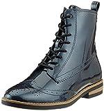 Tamaris Damen 25119-21 Combat Boots, Blau (Navy Patent 826), 38 EU