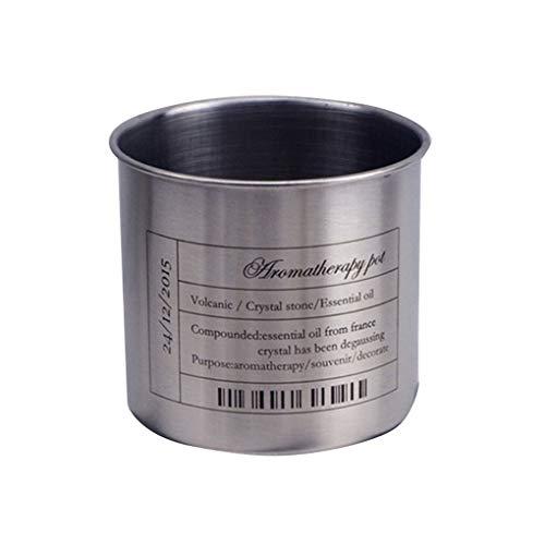 Provide The Best Nordic Edelstahl Vase Minimalist Metallfeder-Desktop Storage Box Inserted Vase Ornamente Home Decoration -