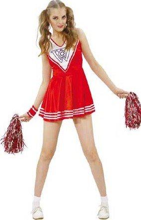 P 'Tit Clown 86857Pom Pom Girl Kostüm für Erwachsene–One (Girl Outfit Clown)