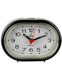 Horo Snooze With Radium Black Alarm Clock 9x3x6.5cm