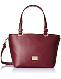 Caprese Hedena Women's Tote Bag (Plum)