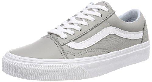 Vans Unisex-Erwachsene Old Skool Sneaker, Grau (Leather), 39 EU