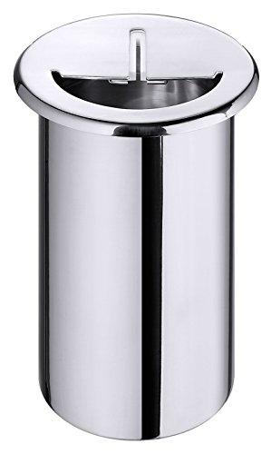 Support Racloir de couteaux, einbaufähig, en acier inoxydable 18/10, 3 pour comptoir encastrable avec roue/Hauteur : 20 cm | erk