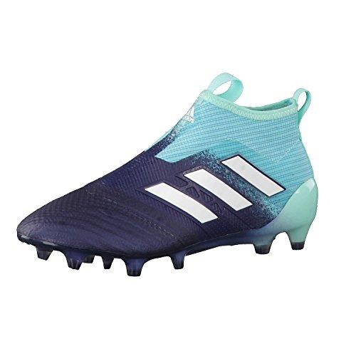adidas Unisex-Kinder ACE 17+ Purecontrol FG Fußballschuhe türkis/blau, 36 2/3 EU