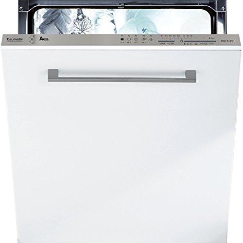 41mse8DJ5 L. SS500  - Baumatic BDI1L38S Built-In A+ Rated Dishwasher - Silver